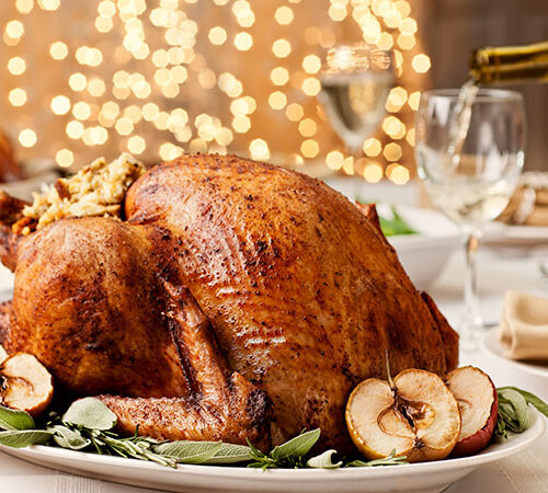 Christmas-roast Turkey