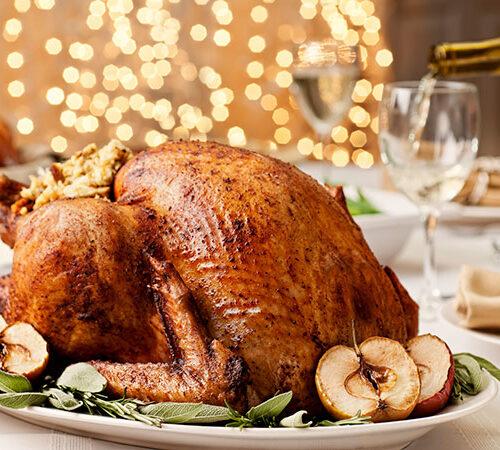 Christmas-roast Turkey